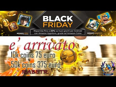 Lords Mobile Amazon Coins Black Friday