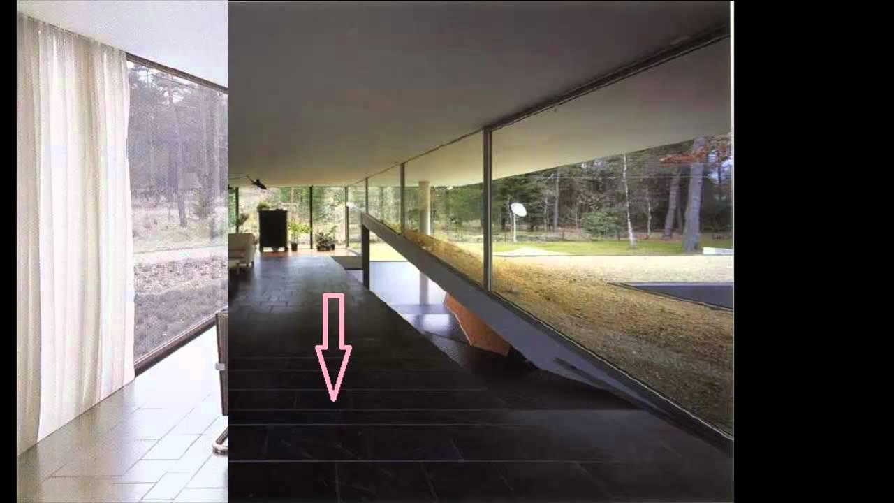 Casa en el bosque Materiales Rem Koolhaas  YouTube