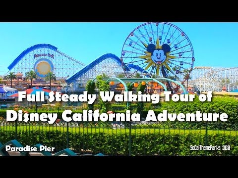 [HD]Full Complete Tour of Disney California Adventure 2014 - Extensive Tour - Disneyland