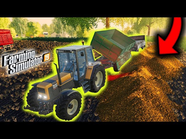🐄  Śmierdząca Sprawa, Wywóz Obornika na Pole 👨🏼🌾 Rolnicy Mechanicy ⭐️ Farming Simulator 19 🚜