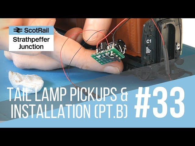 #33 Part B: Installing a Flashing Tail Lamp/EOT Light (Making Pickups, Switch & Voltage Regulator)