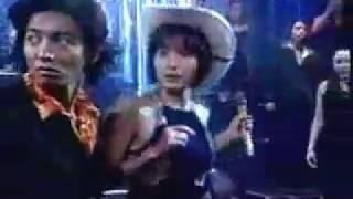 木村與1980年代少女偶像歌手荻野目洋子跳para para 洋子演唱經典曲 ダン...