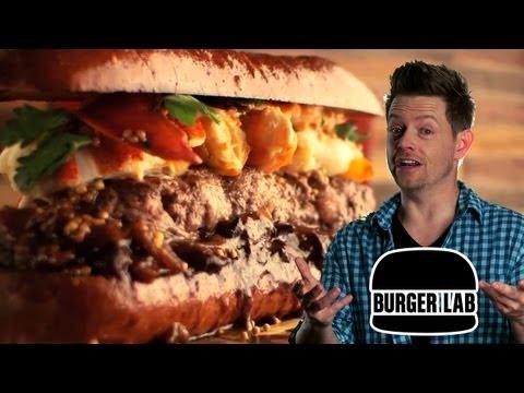 Surf & Turf Lob-Steer Burger - Burger Lab