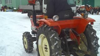 Hinomoto E 2304 Japoński ciągnik ogrodniczy. www.traktorek.waw.pl