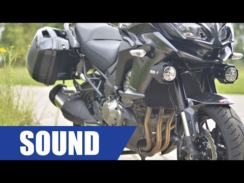 Kawasaki Versys 1000 Sound And Details