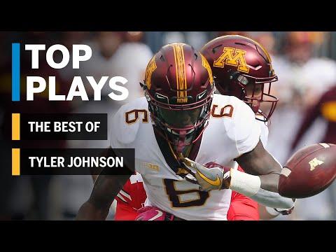 The Best of Tyler Johnson: 2018 Mid-Season Highlights | Minnesota | Big Ten Football