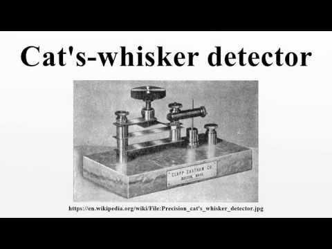 Cat's-whisker detector
