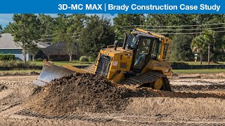 Brady Construction grades effortlessly with Topcon's 3D-MC MAX
