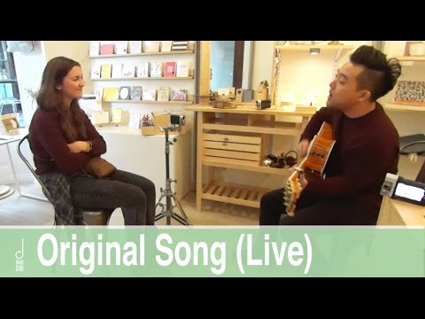 "David Choi Plays ""You & Me"" for fans"