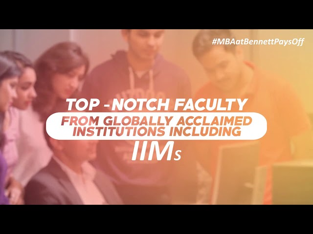 Top Reasons to join MBA at Bennett University (Times of India Group)