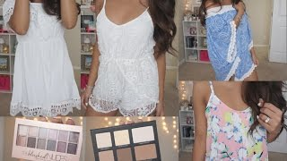 Clothing & Beauty Haul~ Runway Crush, SheIn, Lorac, Drug Store! | Charmaine Dulak