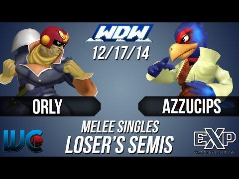 WDW 12/17/14 - ORLY (Falcon) vs. Azzucips...