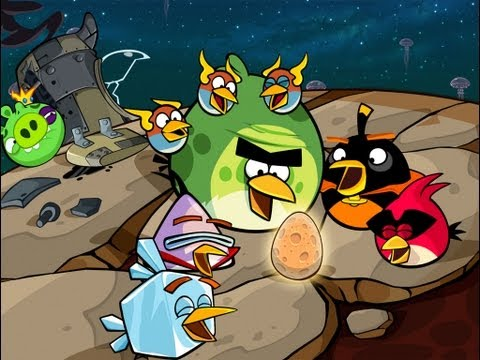 Angry Birds Space Pig Dipper Final Boss [HD]