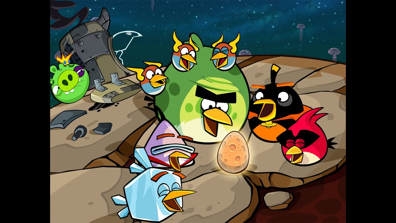 Angry Birds Space Pig Dipper Final Boss [HD] - YouTube