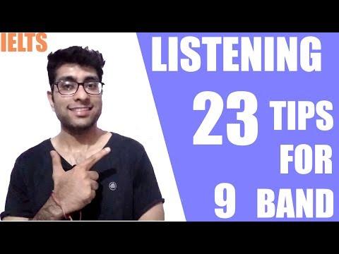IELTS Listening Tips Band 8.0 - Score Higher in IELTS Listening - TOP 23 TIPS
