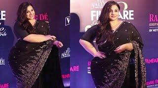 Vidya Balan Weight Gain Post Pregnancy News At Filmfare Awards 2019