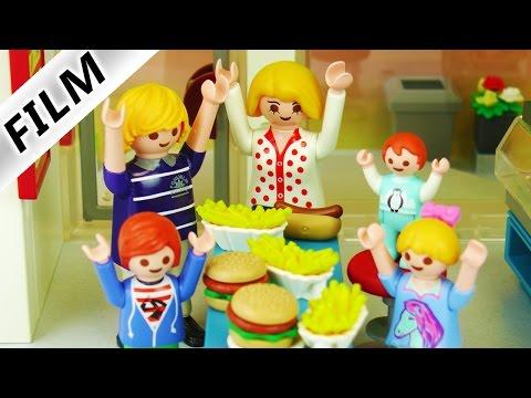 Playmobil Film deutsch | HUNDEFLEISCH IM ESSEN?! Familie Vogel im Imbiss | Kinderserie