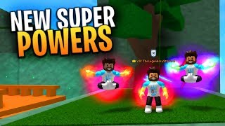 EVOC DI PSYCHIC CLONE SUPERPOWER! COMING NEXT UPDATE in SUPER POWER TRAINING SIMULATOR (Roblox)