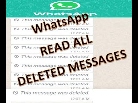 how to recall WhatsApp Messages how to read deleted message on whatsApp