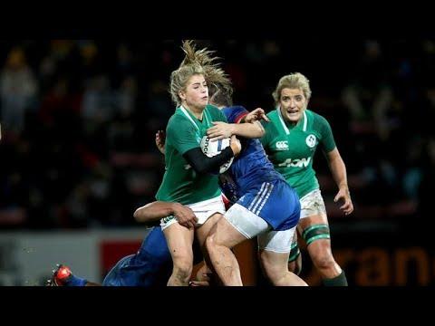 Irish Rugby TV: France Women V Ireland Women Highlights