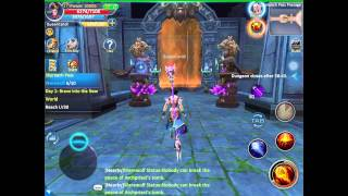 Forsaken World Mobile 3D MMORPG (English Beta) IOS Android Part 2