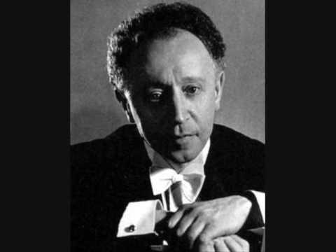 Arthur Rubinstein plays Chopin Ballade #2 in F Major, Op. 38