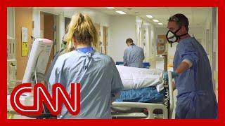 Inside an ICU in England's hardest hit area