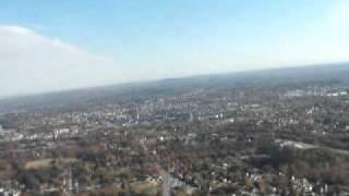 flying over Lewiston/Auburn Maine