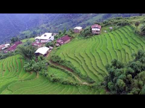 Bhutan villages - Bongo, Phatsuma and Zamsa Kerazhing (shorter 4.37 mins)