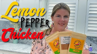 Legit Lemon Pepper Chicken Thighs