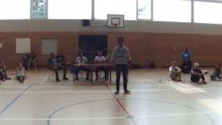 Osman Popping Judge Show @ Funk The Beat Battle Berlin