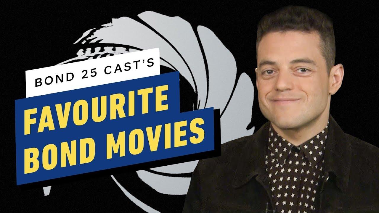 Bond 25: No Time To Die Cast's Favourite Bond Movies - YouTube