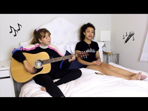 Unconditionally by Katy Perry Cover  Stella Allen and Claire QUTE