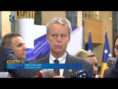 Deklarata e Greg Delawie nga Kuvendi - 22.02.2018 - Klan Kosova