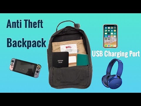 kaka-anti-theft-backpack-with-usb-charging-port-(tech-tuesday)