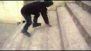 patinaje en linea santa eulalia.wmv