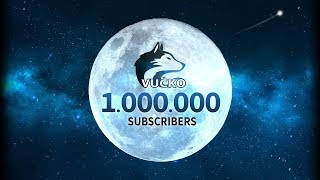 Reached 1,000,000 Subscribers!