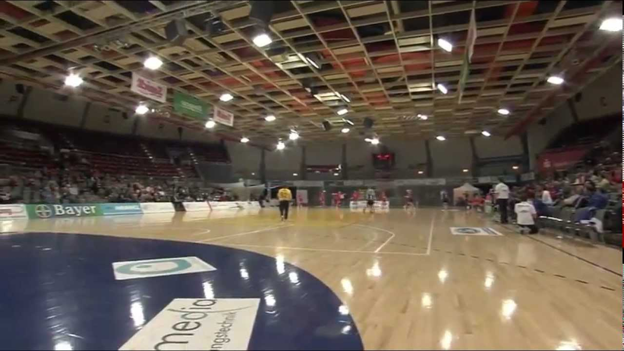 Die Smidt-Arena in Leverkusen - YouTube