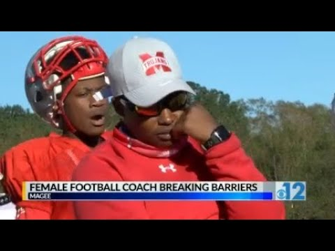 Female Football Coach Breaking Barriers at Magee High School