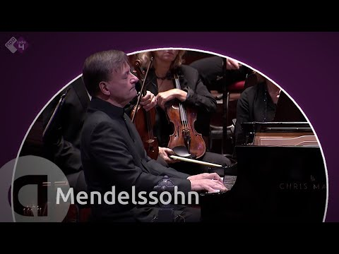 Mendelssohn: Piano Concerto No. 1 - Radio Philharmonic Orchestra and Stephen Hough - Live Concert HD