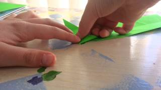 Origami Money Snake, Designed By Golden Fire - (Folding Instructions)