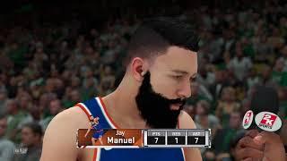 NBA 2K18 Knicks v Celtics #2