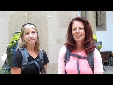 Laurel Schroeder & Brenda McAuliffe - Rexistro Km 0 Santiago