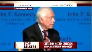 Jimmy Carter Hands John McCain His Ass