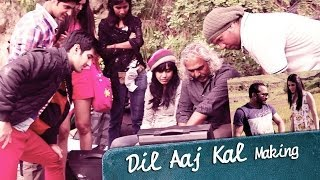 dil aaj kal making of the song purani jeans