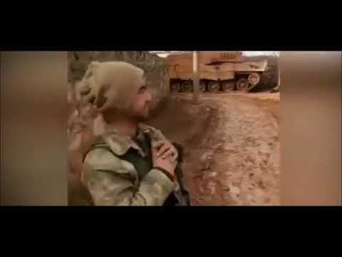 Askerimizden Bingöllü Çoban Taklidi  Zeytin Dali OP  Afrin