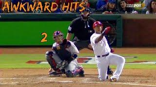 MLB Awkward Hits (part 2)