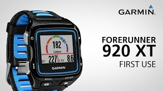 01. Garmin Forerunner 920XT: Getting Started