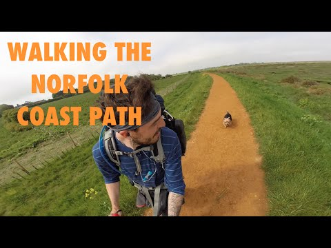 WALKING THE NORFOLK COAST PATH!