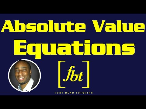 Solving Absolute Value Equations [fbt]